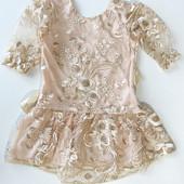 Нарядное кружевное платья для девочки