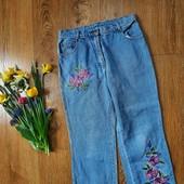 Капрі джинсові в узор❤️
