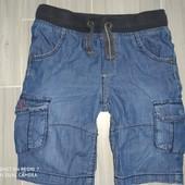 Джинсовые шорты 4-5лет замеры на фото