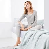 Мягкие брюки в полоску для дома и для сна Relax вискоза ,от Tchibo(германия). размер 48 евро=54-56