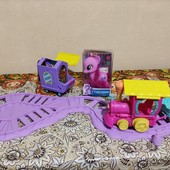 Пони паровозик ездит сам дружбы My Little Pony + в подарок пони