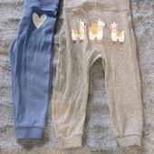 штанишки комплект для девочки 74/80