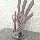 Набор кухонных ножей   Набор ножей с подставкой   Набір кухоних ножів   Набор ножей   Кухонные ножни