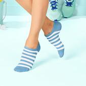 лот 3 пары ! Спортивные носки сникерсы от Tchibo германия , размер 35-38