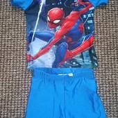 купальний комплект на хлопчика з уф-захистом 86/92 Spiderman