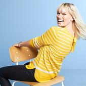 Очаровательный вязаный свитер с бантом Tchibo (германия) размер 36 евро=42-44