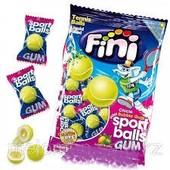 Испания.Целая упаковка! Жевательная резинка вкус лимон-лайм Fini тennis Gum Balls,80 гр