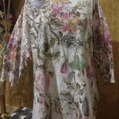 Эксклюзивная белоснежная и со стразами гипюр натуральный стречь блузка новая.3xl,4xl,5xl.Лотов много
