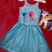 Шикарное фирменное платьице,на девочку 9-10 лет
