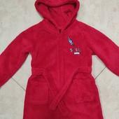 Детский махровый халатик,унисекс,1,5-2 годика