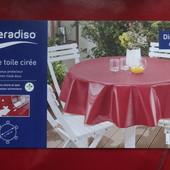 Распродажа! Meradiso Германия Lidl р160х160см скатерть водоотталкивающая на круглый стол оригинал