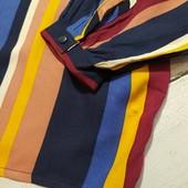 Роскошная легкая яркая полосатая блуза рубашка Esmara