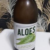 Натуральный органический сок алоэ 1000мл, пр-во Польша