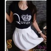 Красивое платье queen (королева)
