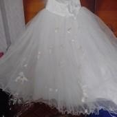 Свадебное платье 48-50 р !!!