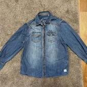 Джинсовая рубашка на рост 140 см Tom Tailor