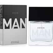 Мужская туалетная вода Avon- Man, Эйвон мэн, 30 мл