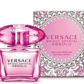 Парфюмированная вода Bright crystal absolu от Versace. 50 ml