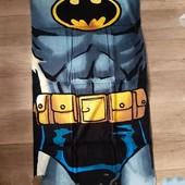 Полотенце Бетмен Яркое и качественное 70*140см