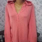 George женский свитер с капюшоном. Размер 52-54