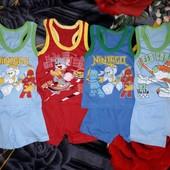 Супер!!! Классные костюмы (борцовка+шорты) на мальчика до 2 лет!!!
