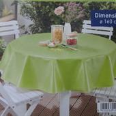 Срочно! Meradiso Германия Lidl р160х160см скатерть водоотталкивающая на круглый стол оригинал