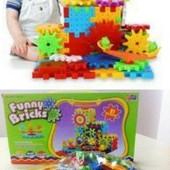 Акц.низкая цена❣Развив.3D конструктор funny bricks,81деталь.Отлич.кач-во!♥️ остался один