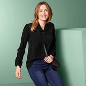 Комбинированная блуза - туника со стразами от Tchibo(германия) размер 36 евро=42-44
