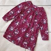 Стоп ❤ Фирменное коттоновое платье , цветочная расцветка,3-4 года❤ Много лотов!