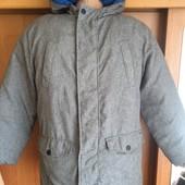 Куртка, на осень, 2-х сторонняя, 10-11 лет 146 см. M&S.