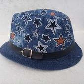 Новая детская шляпа 52-54.
