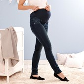 Стильные , комфортные джинсы для будущих мамочек ( для беременных) от tchibo размер 42 евро=48