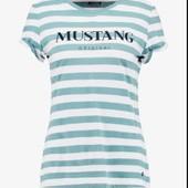 Комфортная футболка из био-хлопка от Mustang, 100% оригинал, размер М евро