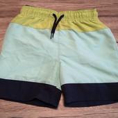 Германия! Пляжные шорты на мальчика 110-116 см рост 4-6 лет