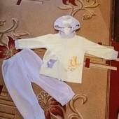 велюровый спортивный костюм
