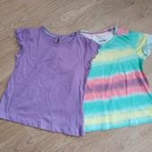 Набор из 2-х футболок lupilu германия на девочку 1-2 года
