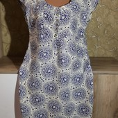 Собираем лоты!!! Платье, размер 14,100%лен