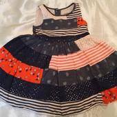 Платье лето 2-3 года