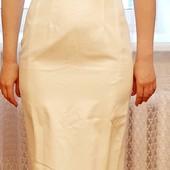 Нарядное белоснежное платье S-M. В новом состоянии