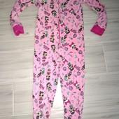 Слип пижама хлопок на 3-4года замеры на фото