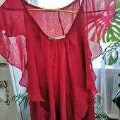 Шикарна шифонова блуза! Розмір Л-ХЛ
