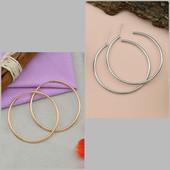 Серьги - кольца. Позолота Xuping