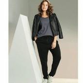 esmara., лёгкие вискозные брюки гаремки редкий размер евро46+6замеры
