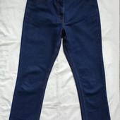 Синие фирменные джинсы прямого фасона Cotton Traders