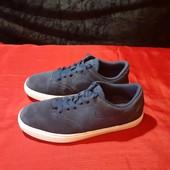 Замшевые синие кроссовки Nike, ориг. Вьетнам, разм. 37,5 (23,5 см по бирке, реально 24 см).