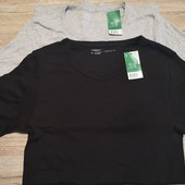 Базовые мужские футболки футболка 2 шт в лоте с бирками размер М