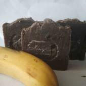 Банановое мыло по типу Африканского черного мыла