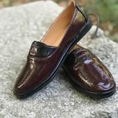 Новые туфли лакированные, размер 39