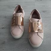 Кожаные кроссовки Майкл Корс для девочкии