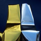 Фольга для ногтей золото и серебро, лот 3 метра